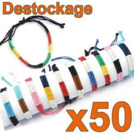 D-156 - Lot de 50 Bracelets Zandoli - Déstockage